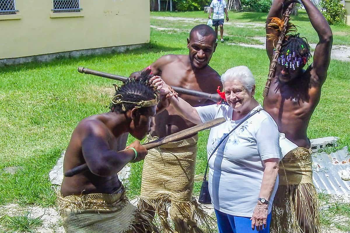 Yukana resident, Alma in New Caledonia